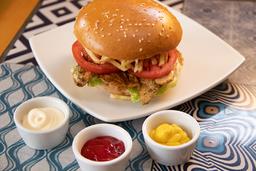 Sándwich de Filete de Pollo Clásico