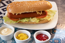 Sándwich de Hot dog