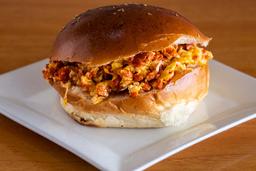 Sándwich de Salchicha Huachana
