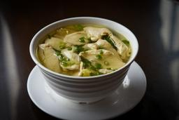 Sopa Wantan de Pollo