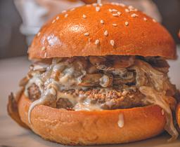 Swiss Melt Veggie Burger
