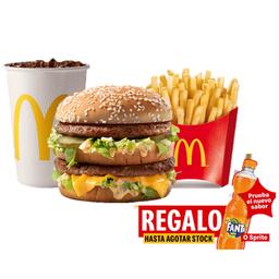 Regalo Fanta o Sprite con Combo Big Mac