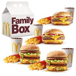 Family Box Clasico 4 combos medianos