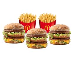 Big Mac Lovers x 3