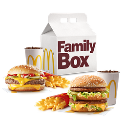 Family Box Clasico 2 combos medianos