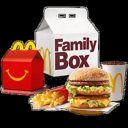 Family Box Feliz: 1 combo + 1 Cajita Feliz