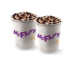 2 McFlurry XXL Oreo