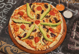 Pizza la Veggie Mediana