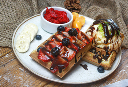 Waffle de Chispas de Chocolate