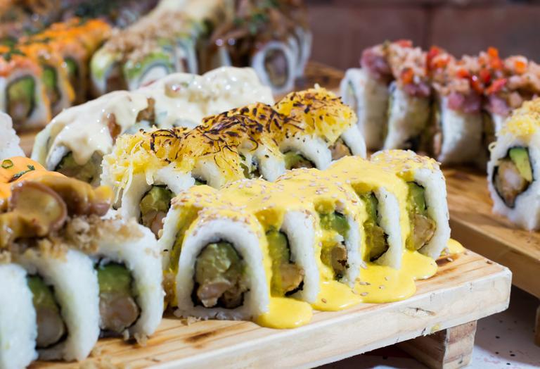 Logo Roll-Star Sushi