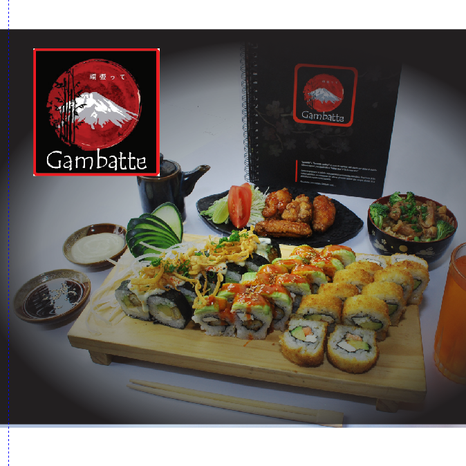 Logo Gambatte sushi bar