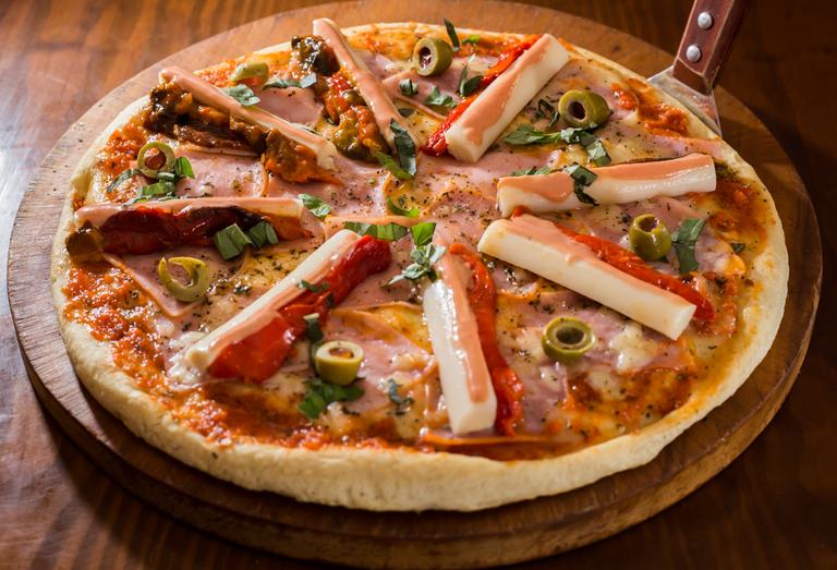 Logo Macarena - Pizzas