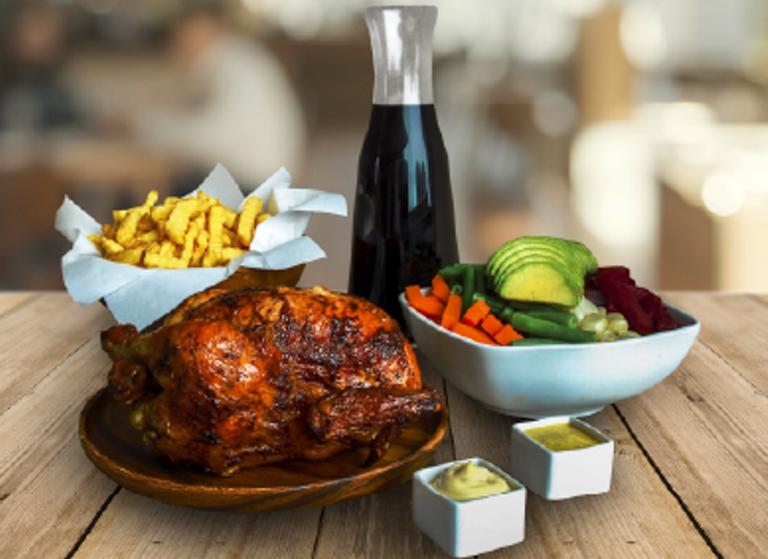 Logo Alo Chicken - Pollo
