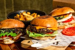 Magnetic Burgers by Selina