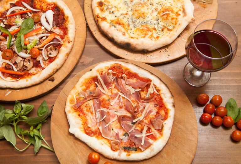 Logo Pizzeria D' La Romagna