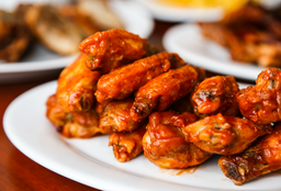 Wings and Pork