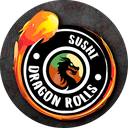 Dragon Rolls Sushi background