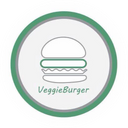 Veggie Burger  background