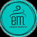 Em. Vegan Sweets background