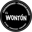 Chicharrones El Wontón background