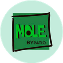 Mole bypatio background