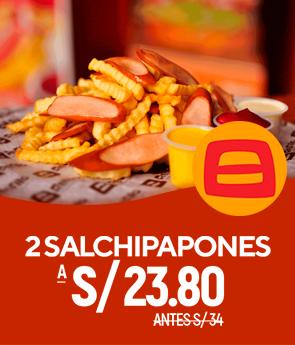 2 salchipapa