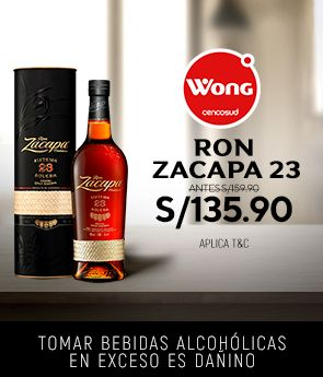 [BRANDS] Ron Zacapa Solera (wong)