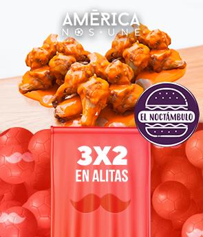Copa América: 3x2 Alitas