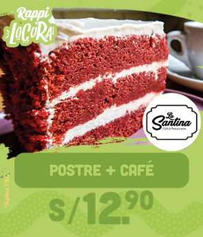 Postre + cafe 12.9 Rappilocura