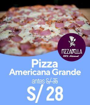 Pizza Americana Grande a 20%